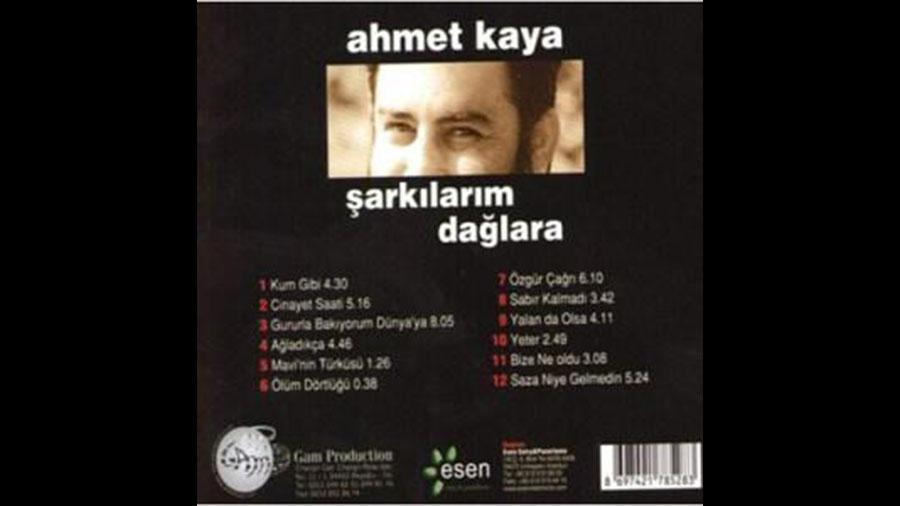 14. Ahmet Kaya : Şarkılarım Dağlara