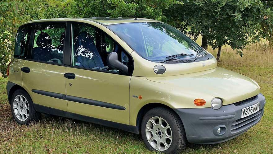 6. Fiat Multipla