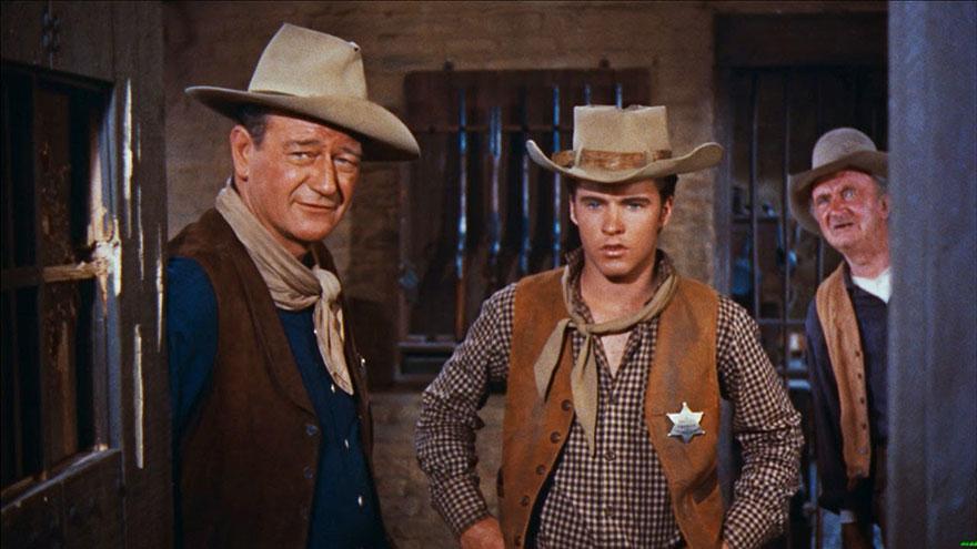 10. Rio Bravo – Kahramanlar Şehri (1959) | 8.0